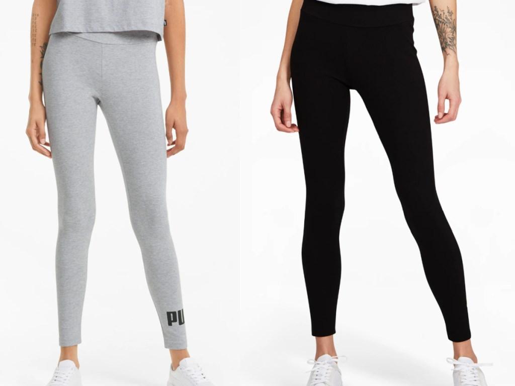 2 pairs of puma leggings