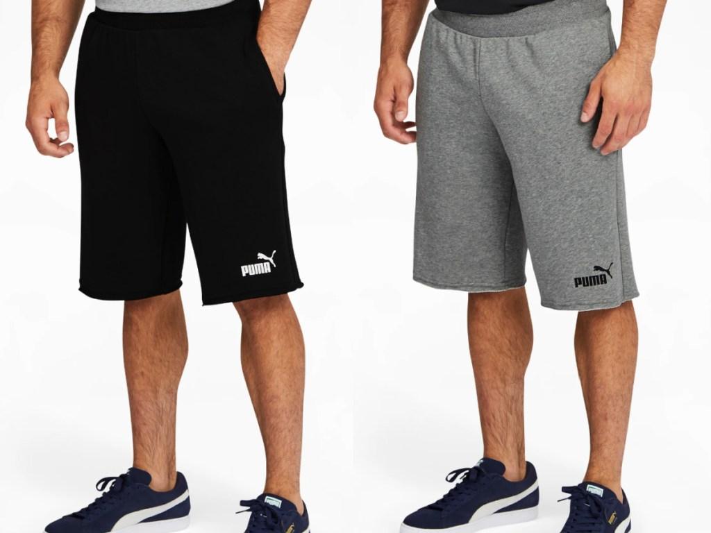 2 pairs of men's puma shorts