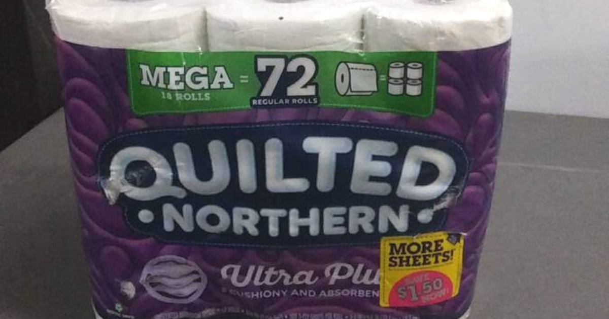 Quilted Northern Ultra Plush Toilet Paper 18 Mega Rolls