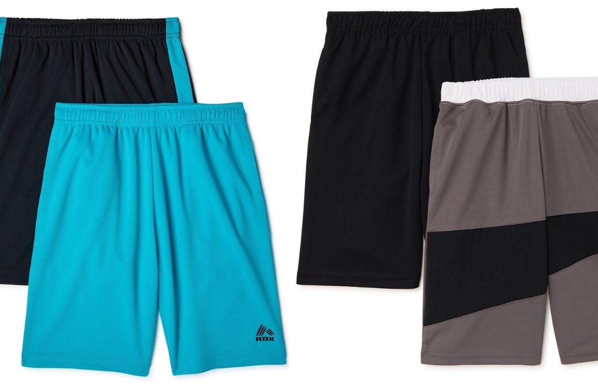 2 rbx performance boys shorts packs