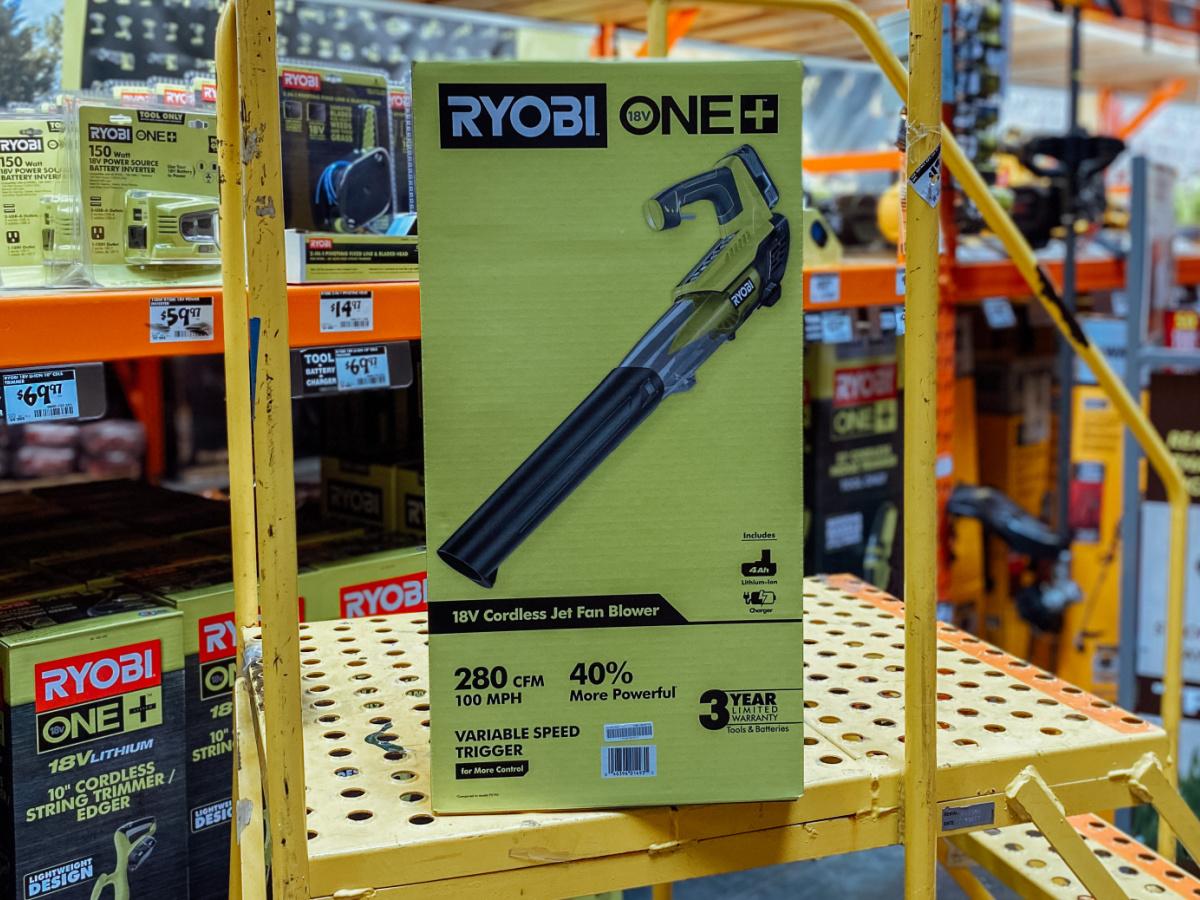 ryobi lead blower