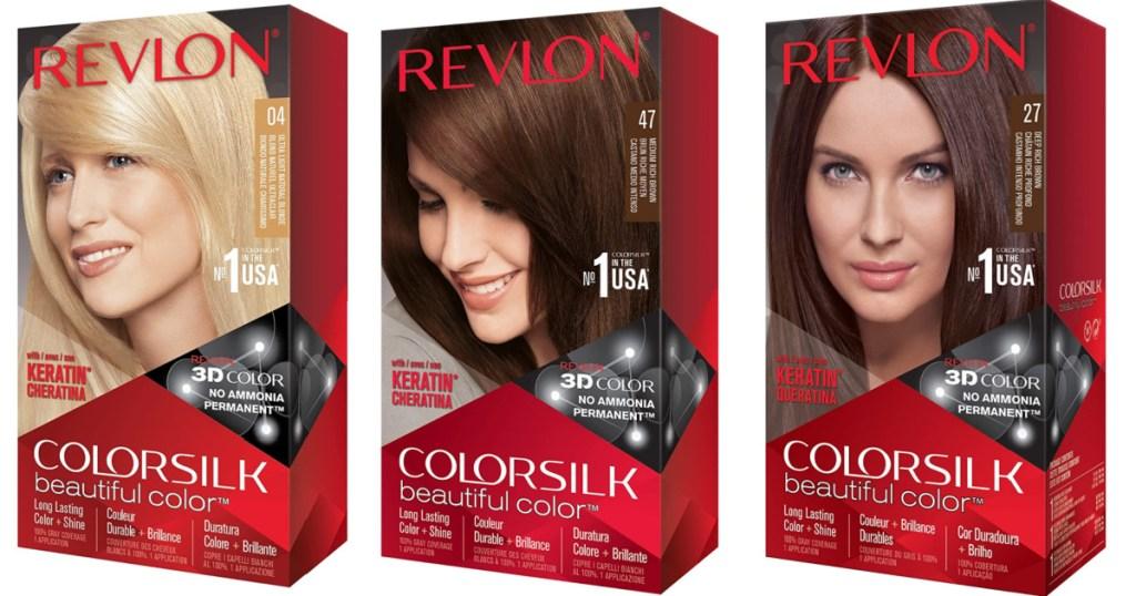 revlon hair dye boxes