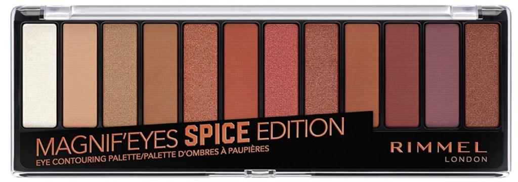 rimmel spice edition palette