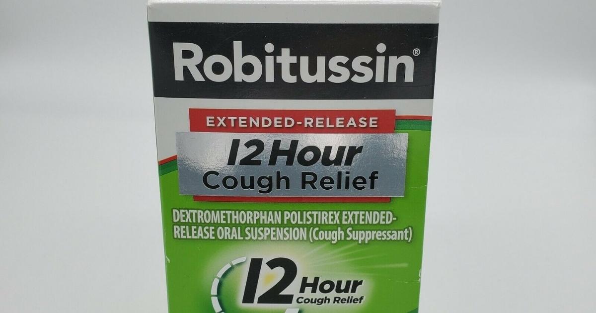 Robitussin 12 Hour Cough Relief 5 fl oz Bottle