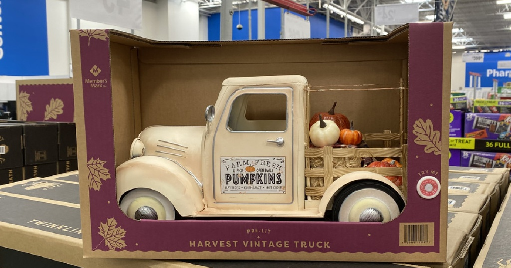 Sam's Club Harvest Vintage Truck