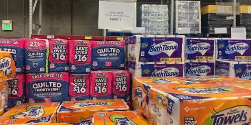 Sam's Club Is Once Again Limiting Toilet Paper & Paper Towel Purchases