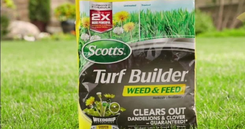 Scotts Turf Builder Weed and Feed 3 14.54lb bag
