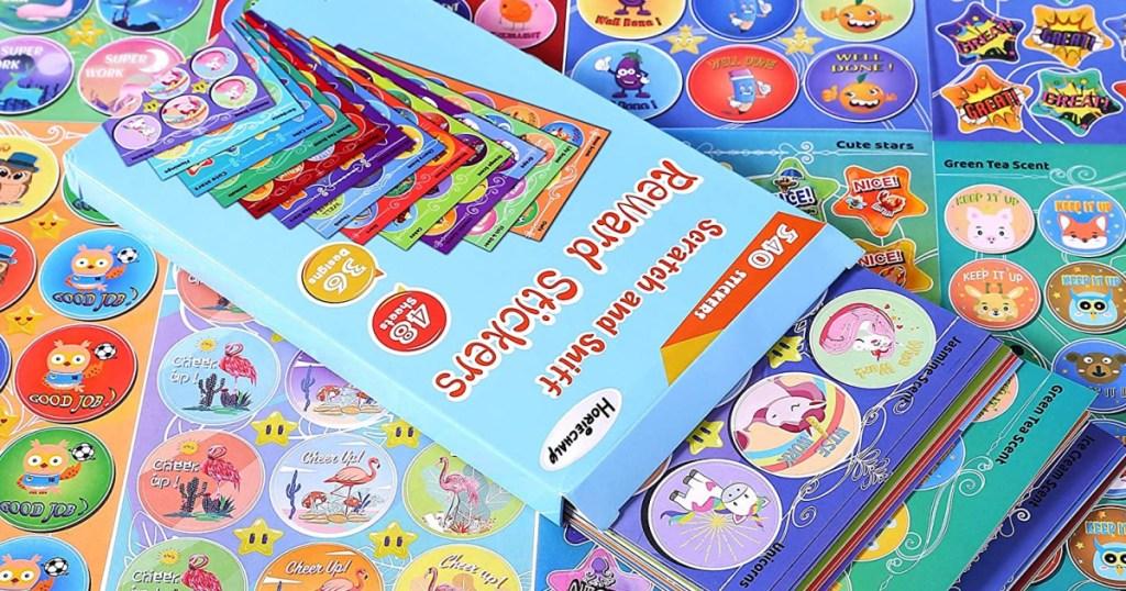 Box of Scratch & Sniff Kids Stickers