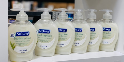 Softsoap Hand Soap 6-Pack Only $4 Shipped on Amazon | Just 69¢ Per Bottle