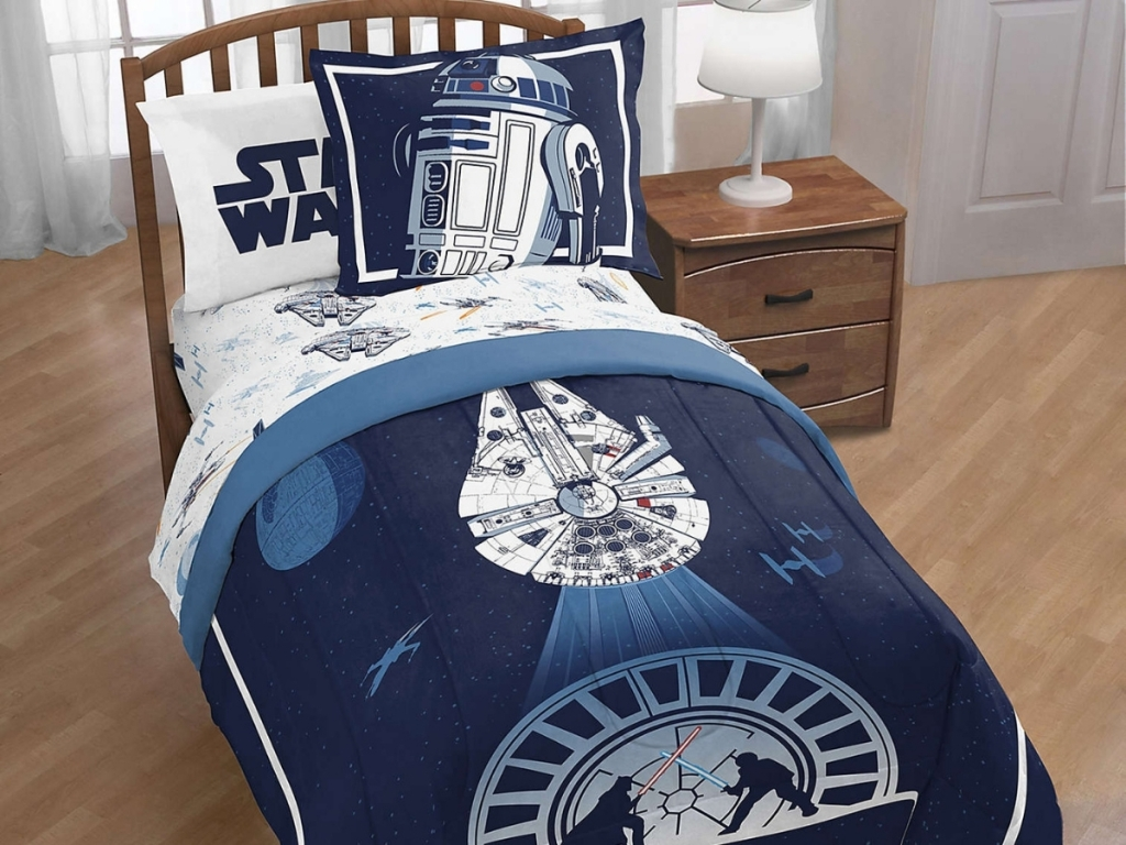 Star Wars Twin/Full Comforter Set