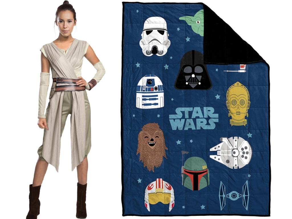 Star Wars Women's costume and Weighted Blanket