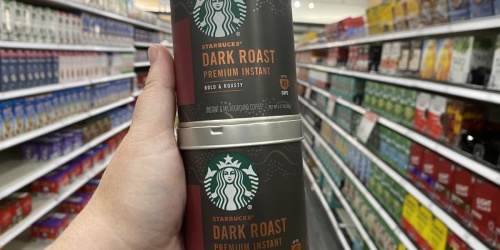 New $2.50/1 Starbucks Premium Instant Coffee Coupon = Cans Just $1.99 After Cash Back at Target (Regularly $8)