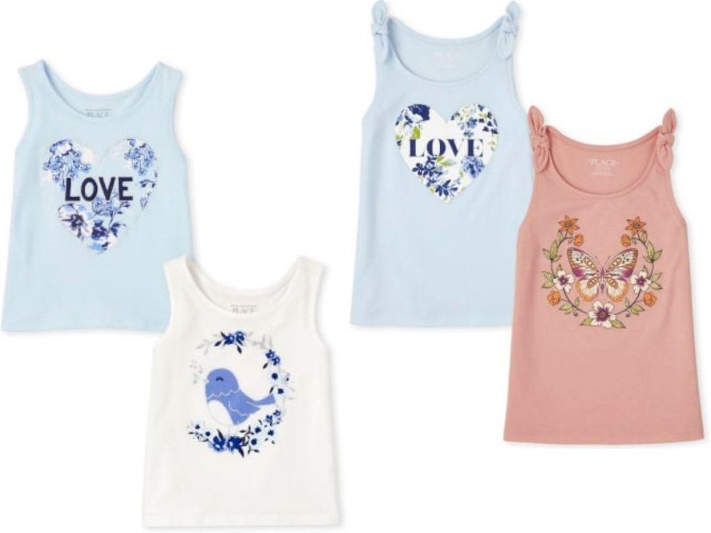 TCP girls clothing tank top sets