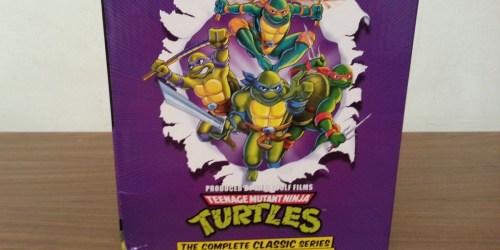 Teenage Mutant Ninja Turtles Complete Collection 23-Disc DVD Set Only $24.96 on Amazon