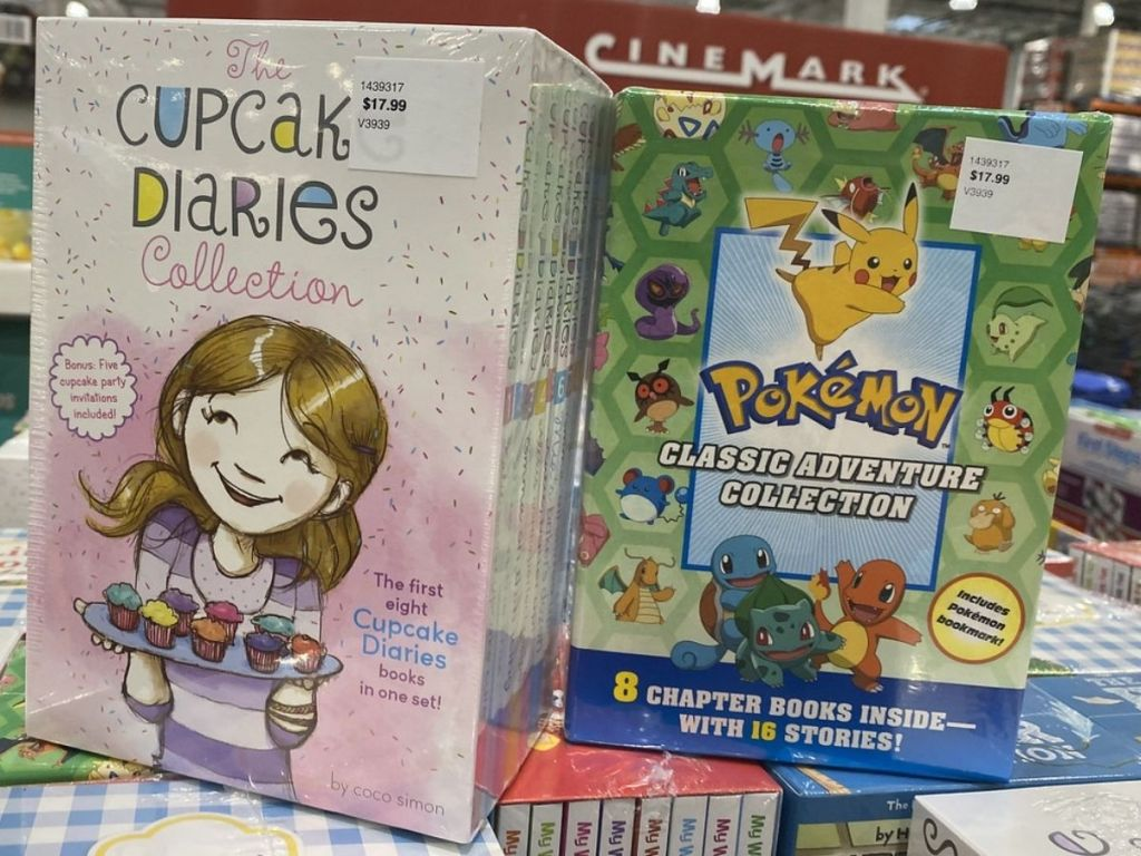 The Cupcake Diaries and Pokemon Classic Adventure Collection