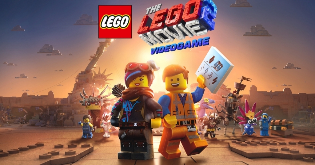 the lego movie 2 video game poster