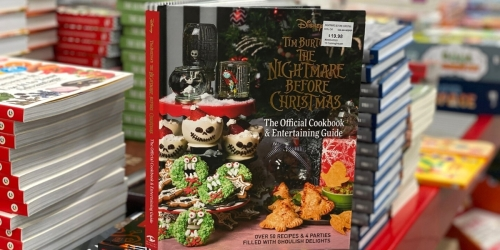 The Nightmare Before Christmas Cookbook & Entertaining Guide Only $19.98 on Amazon
