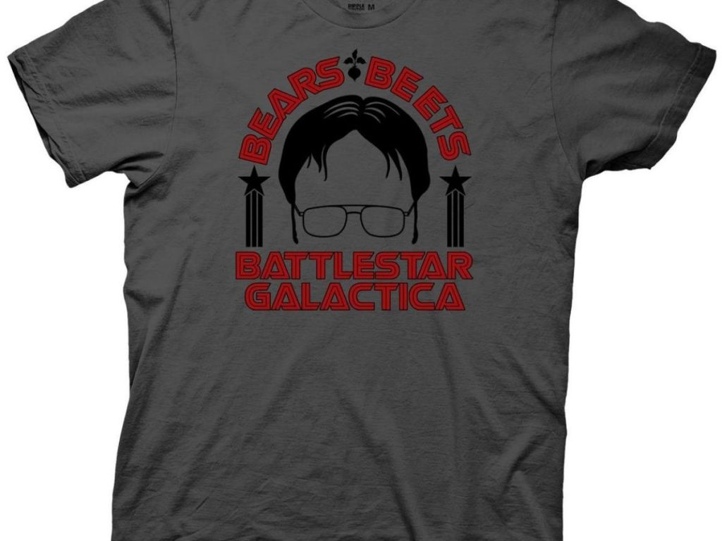 t shirt from the office with dwight