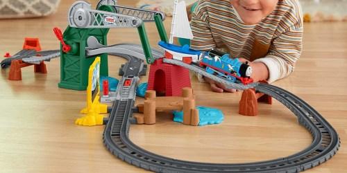 Thomas & Friends Bridge Lift Thomas & Skiff Motorized Train Set Only $13 on Walmart.com (Regularly $25)
