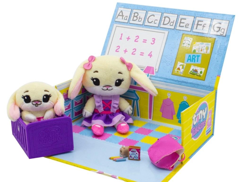 tiny tukkins bunny playset