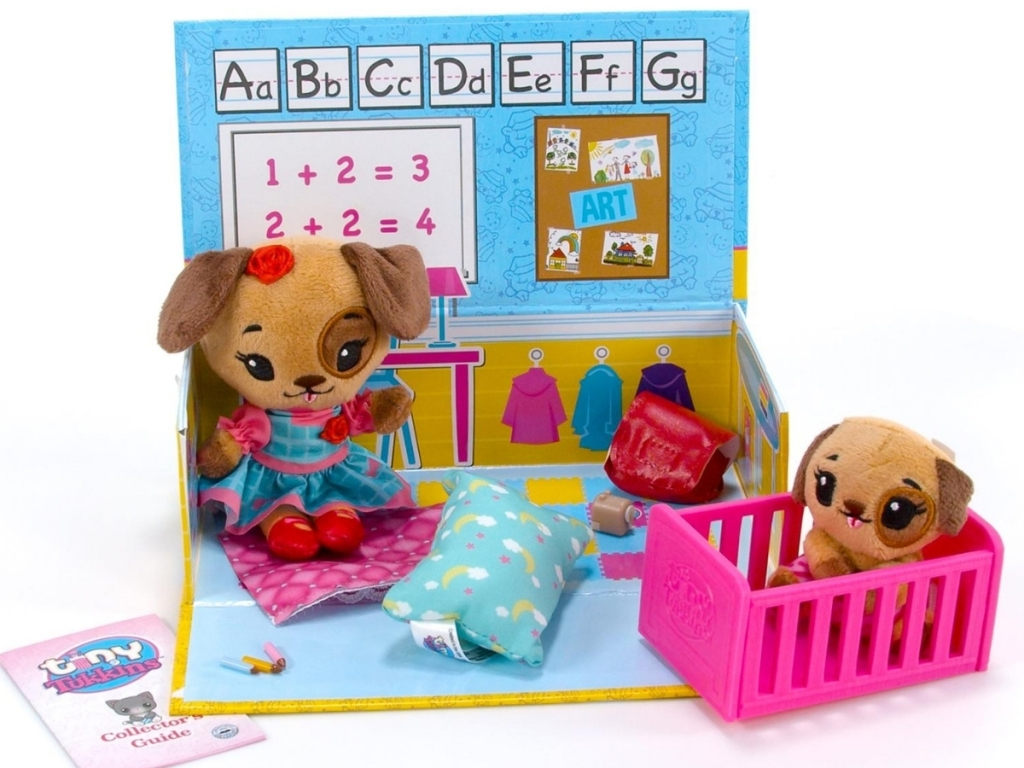 tiny tukkins playset dog with patch