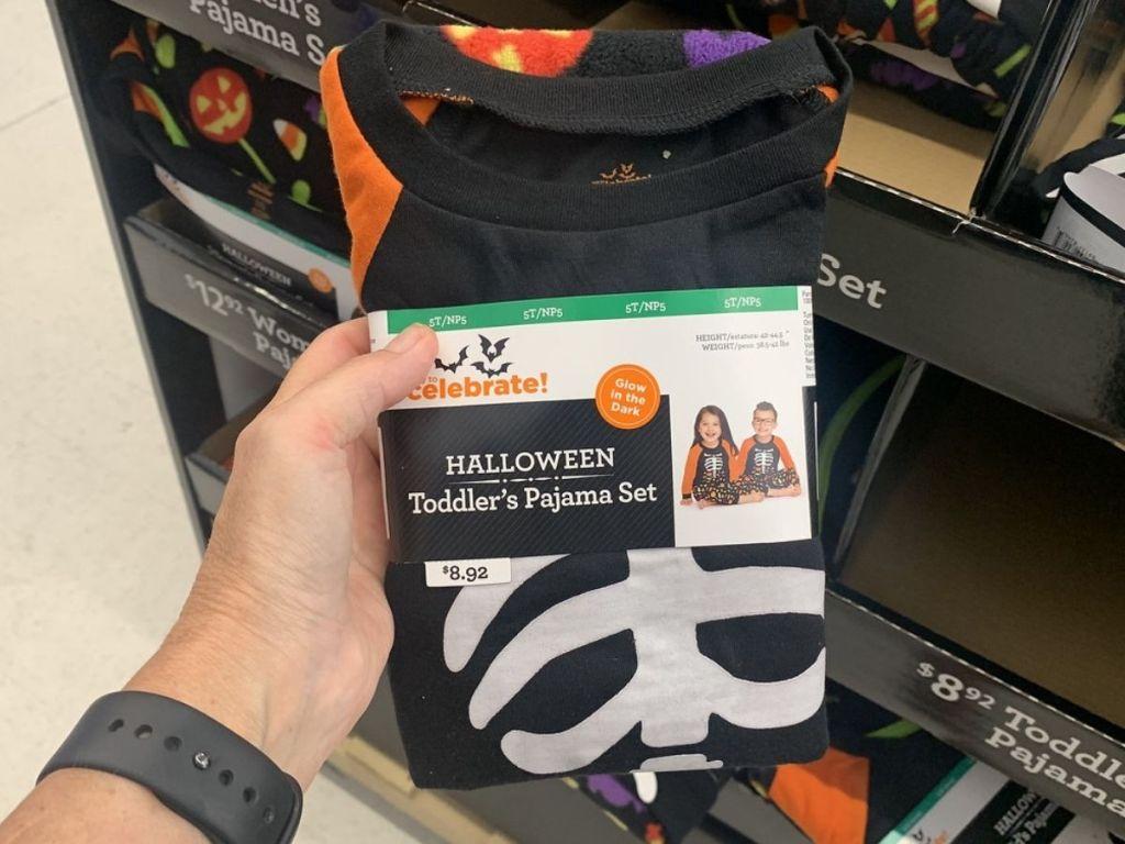 Toddler Halloween Family Pajamas at Walmart
