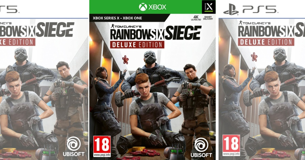 Tom Clancy's Rainbow Six Siege Deluxe Edition video game