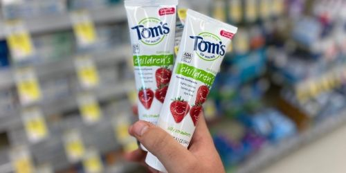 Tom's of Maine Kids Toothpaste Only 49¢ Each After Cash Back & Walgreens Rewards
