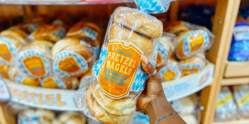 You Knead to Try These Pretzel Bagels – Only $2.69 at Trader Joe's