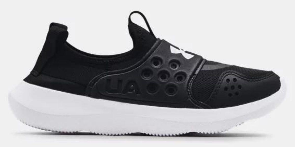 under armour boy's black runplay shoes