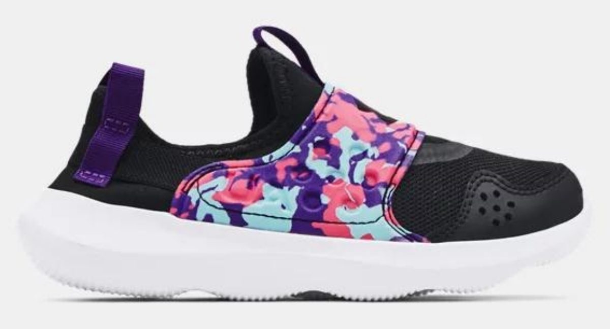 under armour pre school girl's runplay shoes
