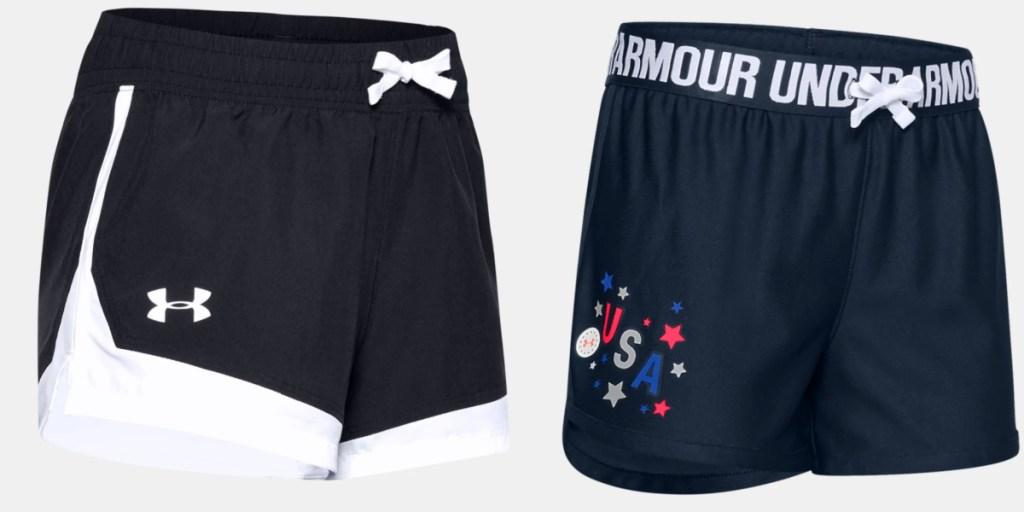UA kids shorts