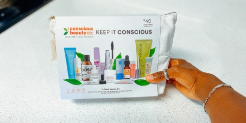 ULTA Conscious Beauty Bag w/ 15 Deluxe Samples ONLY $20 ($150 Value)   Includes Tarte, Cover FX & More