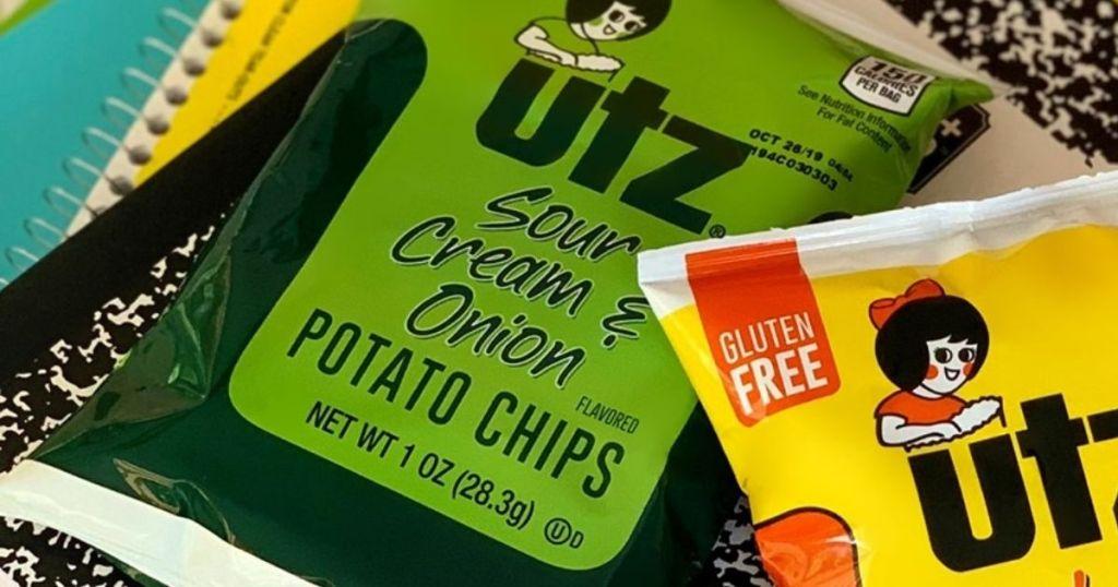 UTZ Sour Cream and Onion Potato Chips bag
