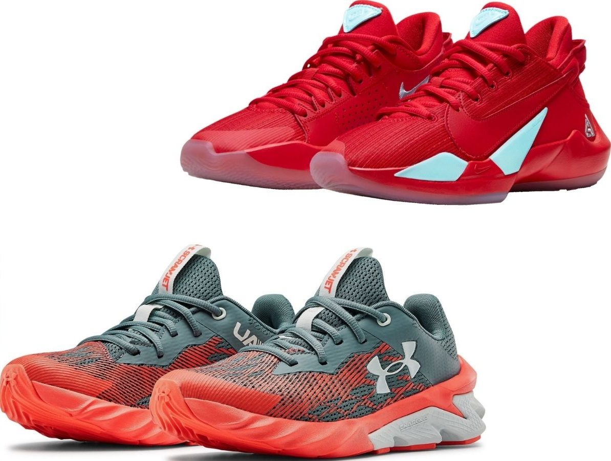Under Armour and Nike Shoes