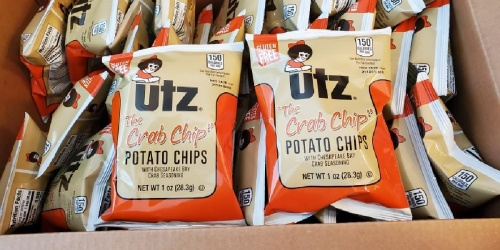 Utz Potato Crab Chips 60-Count Only $13.48 Shipped on Amazon | Perfect for Delivery Drivers