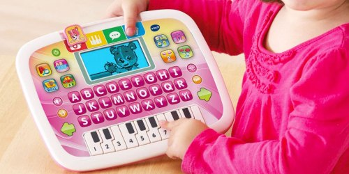 VTech Educational Tablet Just $10.90 on Walmart.com (Regularly $18) | Plays 12 Fun Learning Games