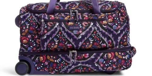 Vera Bradley Foldable Rolling Duffel Bag Just $81 Shipped (Regularly $178)