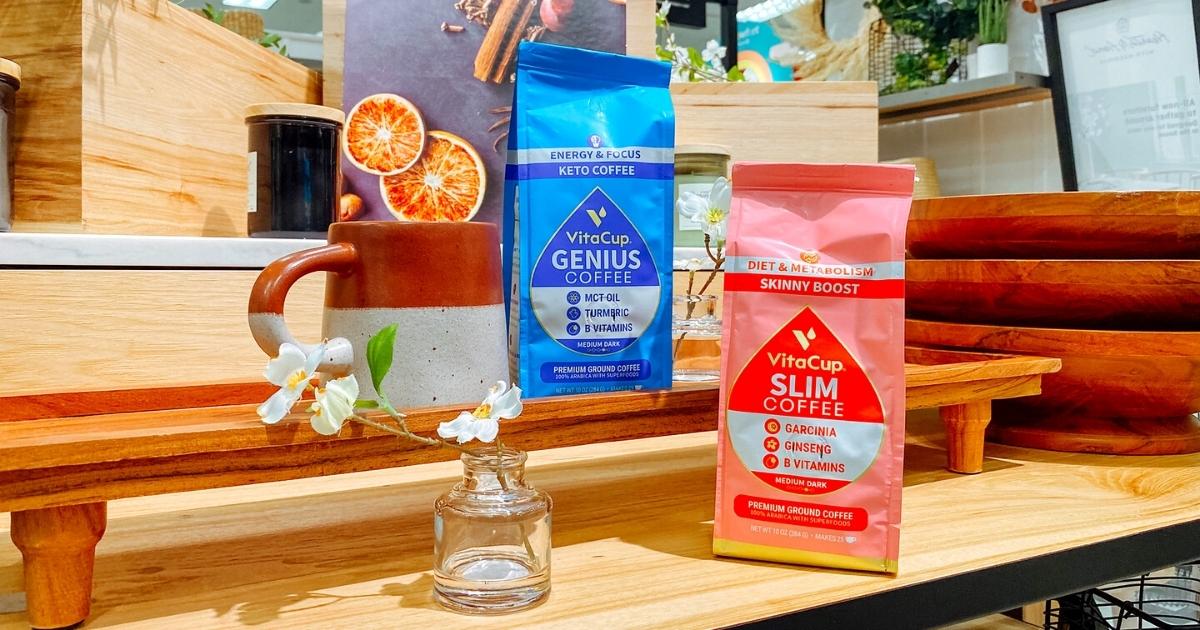 VitaCup Infused Ground Coffee