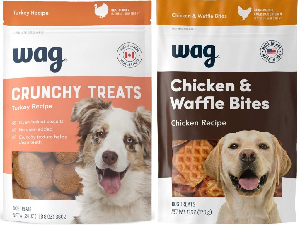 Wag dog treats