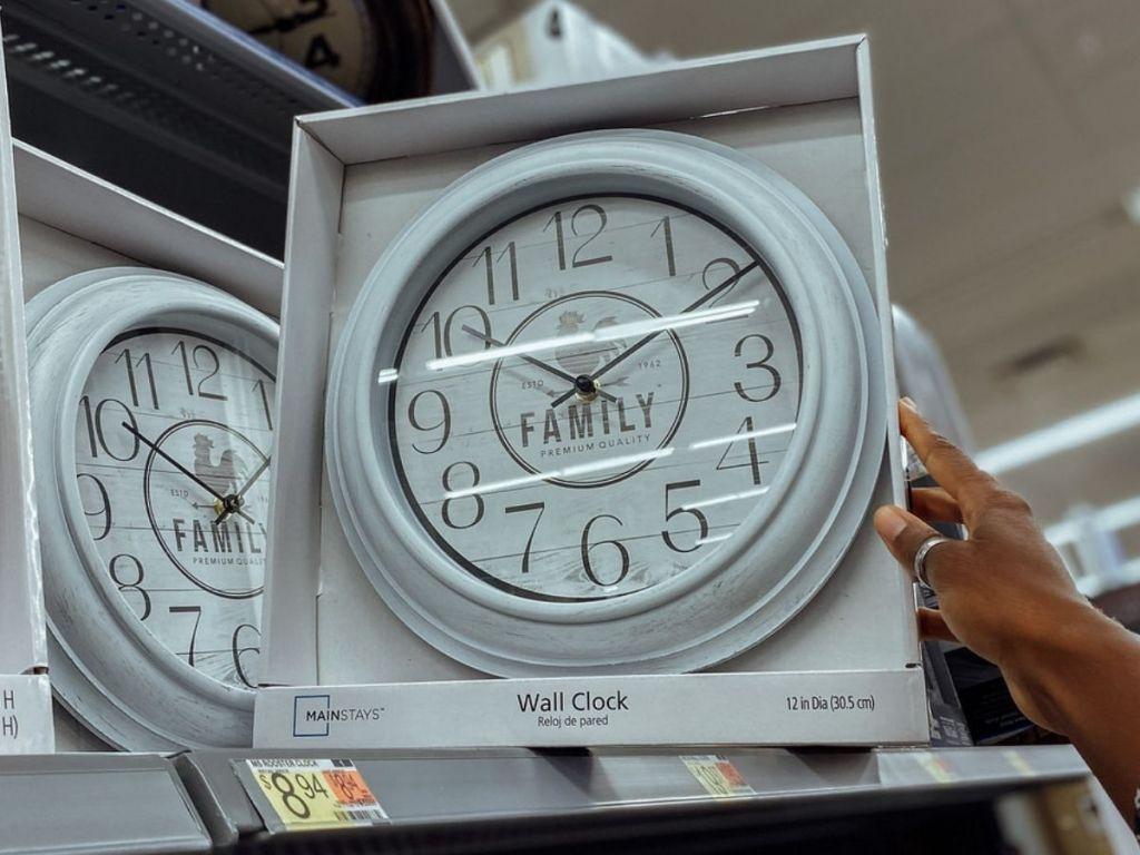 Walmart Family Wall Clock