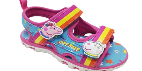 Kids Character Shoes & Sandals from $4.99 on Walmart.com (Regularly $17) | Peppa Pig, Disney & More