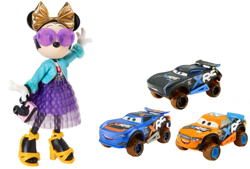 minnie mouse and cars toys
