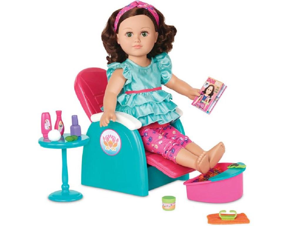 """18"""" doll spa chair"""