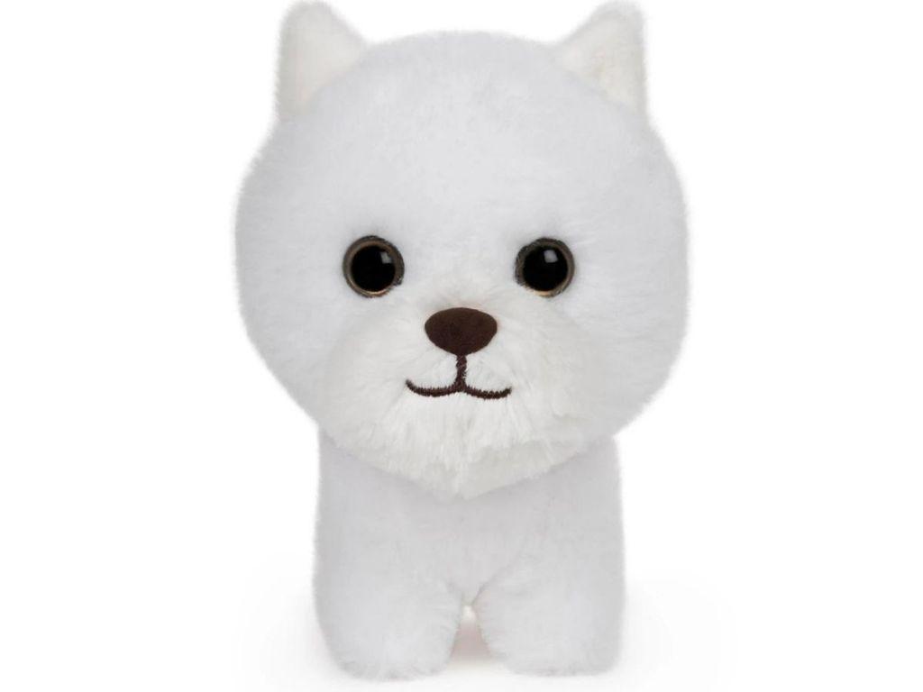 white westie puppy stuffed animal