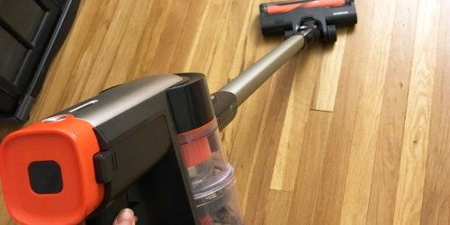 Cordless Stick Vacuum w/ HEPA Filter Only $107 Shipped on Amazon | Includes Wall Mount & Detachable Tools