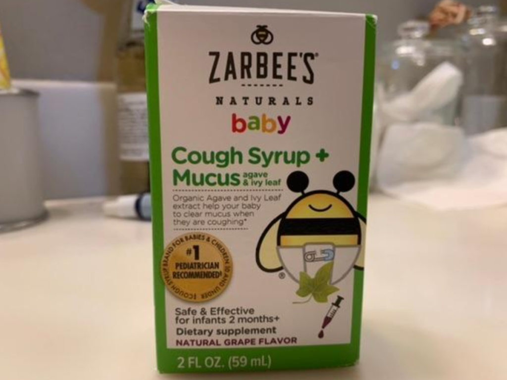 zarbee's natural cough syrup for baby