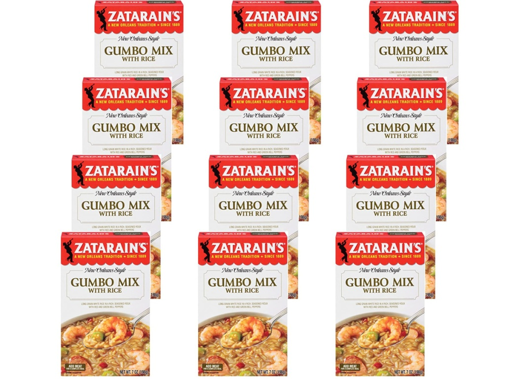 12 packages of Gumbo packs