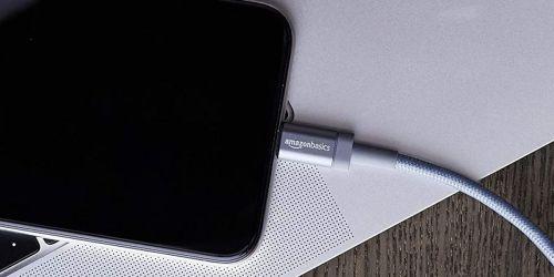 AmazonBasics Premium Charging Cable 2-Pack Just $9.99 Shipped (Regularly $29)