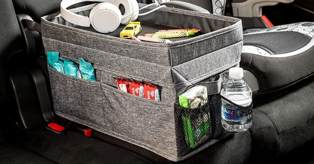 storage compartment in vehicle